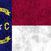 North Carolina Flag Art Print by World Art Prints And Designs