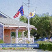 North Carolina Maritime Museums Art Print