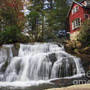 North Carolina Waterfall Art Print
