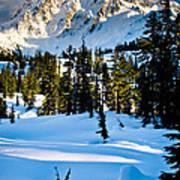 North Cascades Winter Art Print