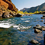 North Fork Of The Shoshone River Art Print