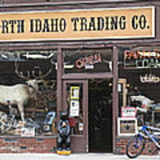 North Idaho Trading Company Art Print