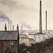 North Kent Landscape  Nr Northfleet Gravesend Art Print