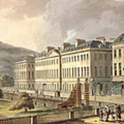 North Parade, From Bath Illustrated Art Print