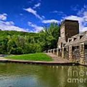North Park Boathouse In Hdr Art Print