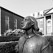 North Park College Nyvall Hall Sculpture Print by University Icons