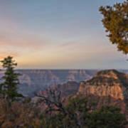 North Rim Sunrise 1 - Grand Canyon National Park - Arizona Art Print