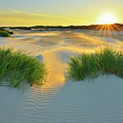 North Sea Sandbank Kniepsand Art Print
