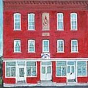 North Star Lodge Art Print