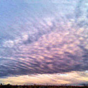 North Texas Sky Art Print