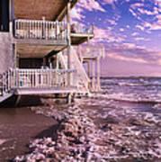 North Topsail Beach Tides That Tell Art Print