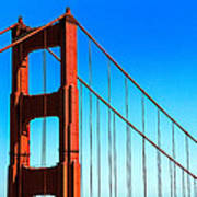 North Tower Golden Gate Art Print