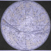 Star Map Art.Northern Hemisphere Star Map Photograph By Sheila Terry Science