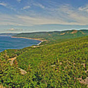 Northern Road Through Cape Breton Highlands Np-ns Art Print