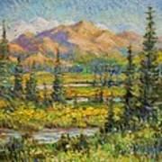 Northwest In The Rockies Art Print