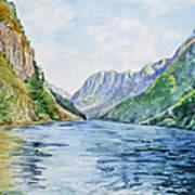 Norway Fjord Art Print
