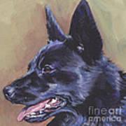 Norwegian Buhund Art Print