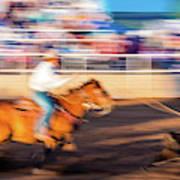 Norwood Colorado - Cowboys Ride Art Print