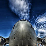 Nose Of A C-17 Art Print