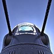 Nose Turret Of The B-24 J Art Print