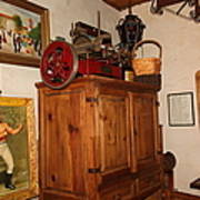 Nostalgic Corner In The Cellar Room At The Swiss Hotel In Sonoma California 5d24442 Art Print by Wingsdomain Art and Photography