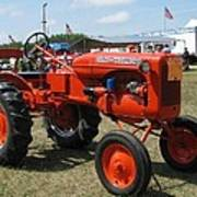 Nothing Like A Tractor Show Art Print by Victoria Sheldon