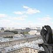 Notre Dame 2 Paris France Landscape Art Print