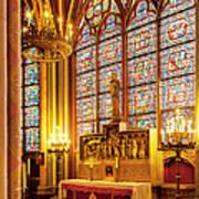 Notre Dame Chapel Art Print