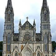 Notre Dame De Montligeon Basilica Art Print by Olivier Le Queinec
