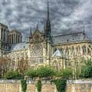 Notre Dame Art Print