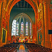 Notre Dame Of Luxembourg Art Print