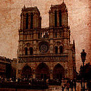 Notre Dame - Paris Art Print by Soumya Bouchachi