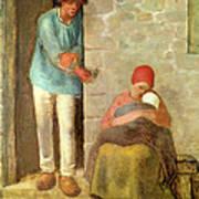 Nourishment, 1858 Art Print