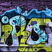 Nouveau Graffiti Art Print