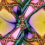 Nouveau Twist Art Print
