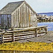 Nova Scotia Shack Art Print