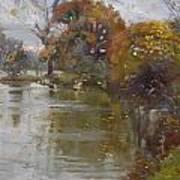 November 4th At Hyde Park Art Print