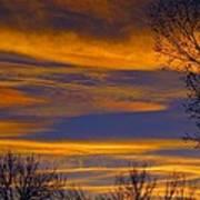 November Skies Art Print