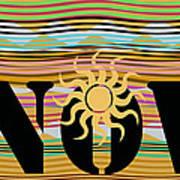 Now Wavy Art Print