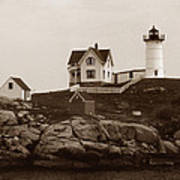 Nubble Light Print by Skip Willits