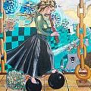Nuclear Japan Art Print