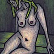 Nude 1 - 2010 Series Art Print