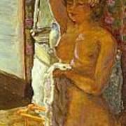 Nude Against The Light Art Print by Granger