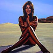 Nude Beach Beauty Art Print