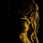 Nude - Chiaroscuro Art Print