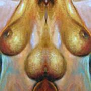 Nude Colorado Art Print