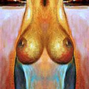 Nude Colorado Series Art Print