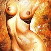 Nude Details Art Print by Emerico Imre Toth