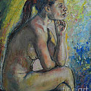 Nude Eva 2 Art Print