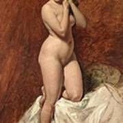 Nude From The Front Art Print